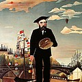 Self portrait Poster by Henri Rousseau