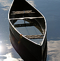 Serene Canoe with Sky Print by Renee Forth-Fukumoto