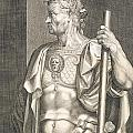 Sergius Galba Emperor of Rome  Poster by Titian