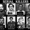 Serial Killers - Public Enemies Poster by Paul Ward