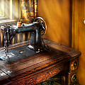 Sewing Machine  - The Sewing Machine  Print by Mike Savad