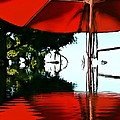 Shades of Red Print by Robert Smith