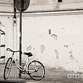She is waiting  Print by Ivy Ho