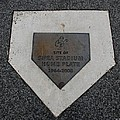 SHEA STADIUM HOME PLATE Poster by ROB HANS