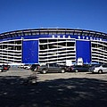 Shea Stadium - New York Mets Print by Frank Romeo