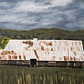 Shearing Shed Poster by Ginevre Smith