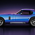 Shelby Daytona - Velocity Print by Marc Orphanos