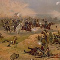 Sheridan's Final Charge at Winchester Print by American School