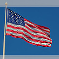 She's a Grand Old Flag Print by Floyd Hopper