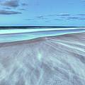 Shifting Sands on Frisco Beach Outer Banks I Print by Dan Carmichael