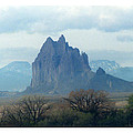 Shiprock  Mystical Mountain New Mexico Poster by Jack Pumphrey
