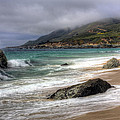 Shores of Big Sur Print by Shawn Everhart