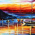 Sicily Messina Poster by Leonid Afremov