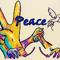 SIGNS OF PEACE Poster by Eloise Schneider