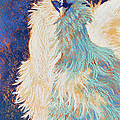 Silkie Rooster Poster by Tracy L Teeter