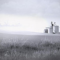 Silo Mist Poster by Melisa Meyers