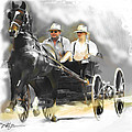 single horse power Print by Bob Salo