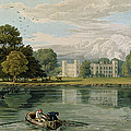 Sion House, Engraved By Robert Havell Print by William Havell