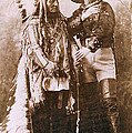 Sitting Bull and Buffalo Bill Poster by Unknown