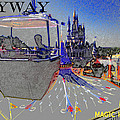 Skway Magic Kingdom Print by David Lee Thompson