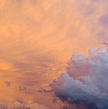 Sky Fire 003 Print by TONY GRIDER