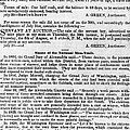 SLAVE TRADE NEWS - 1847 Poster by Daniel Hagerman