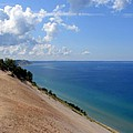 Sleeping Bear Dunes National Lakeshore Michigan Poster by Michelle Calkins
