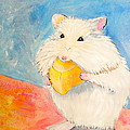 Snack Time Print by Debi Starr