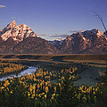 Snake River Panorama Print by Andrew Soundarajan