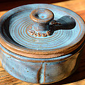 Snickerhaus Pottery-Vessel With Lid Poster by Christine Belt