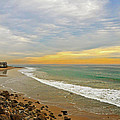 Soft Colors on the Coast Print by Lynn Bauer