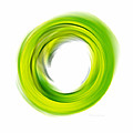 Soft Green Enso - Abstract Art By Sharon Cummings Poster by Sharon Cummings