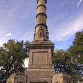 Soldiers and Sailors Monument - Boston Print by Joann Vitali