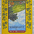 Somersault Ale Print by Bill Owen