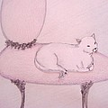 Sophisticated Cat Poster by Christine Corretti