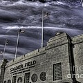 South end Soldier Field Print by David Bearden