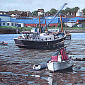 Southampton Northam boats Poster by Martin Davey