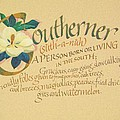 Southerner Print by Don King