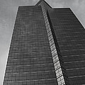 Southfield Hi Rise Black and White Print by Bill Woodstock