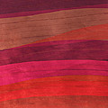 Southwestern Sunset Abstract Poster by Bonnie Bruno