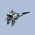 Soviet Aggression Su-27 April 2014 Print by L Brown
