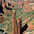 Spider Rock Canyon de Chelly Print by Christine Till
