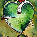 Spirit of the Heart by MADART Print by Megan Duncanson