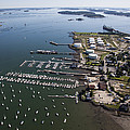 Spring Point, South Portland Print by Dave Cleaveland