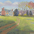 Springtime at Carnton Print by Tommy Thompson