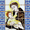 St Anthony of Padua Print by Christine Till
