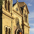 St. Francis Cathedral - Santa Fe by Mike McGlothlen
