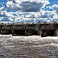 St Lucie Lock and Dam 2 Print by Dan Dennison