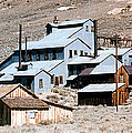 Standard Mill At Bodie Panorama Print by Barbara Snyder