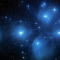 Star Cluster Pleiades Seven Sisters Poster by The  Vault - Jennifer Rondinelli Reilly